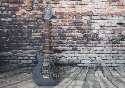 Silver Khrosis with Matching Headstock