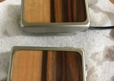 Custom Wood Topped Pickups