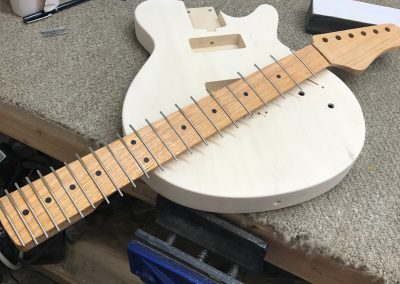 Les Bois with Canarywood Neck